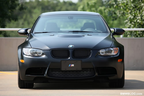 BMW M3 Frozen Black